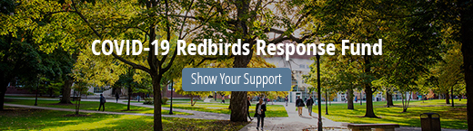 COVID-19 Redbirds Response Fund. Show your support.